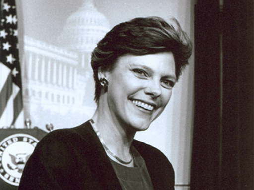 Congresswoman Lindy Boggs of Louisiana
