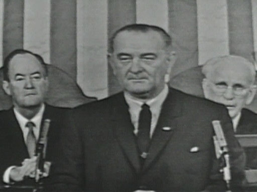 President Lyndon B. Johnson's Speech on Voting Rights Before a Joint Session of Congress
