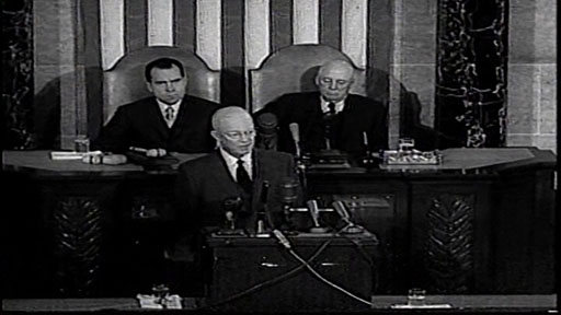 President Dwight D. Eisenhower's 1957 State of the Union Address