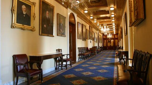 The Speaker's Lobby