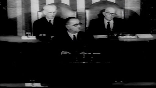 President Lyndon B. Johnson's 1964 State of the Union Address